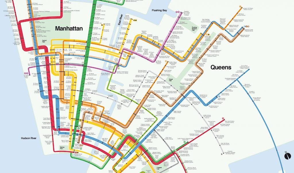 Vineielli Subway Map.Vignelli Todo Sobre Massimo Vignelli